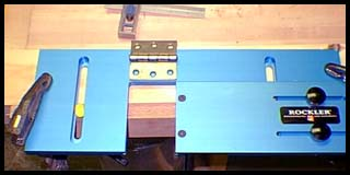 Tool Review Rockler Jig It Hinge Mortising System By