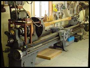 old woodwork machinery