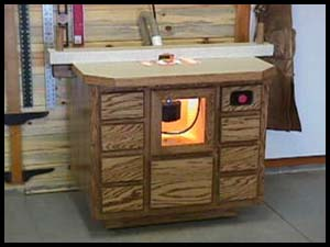 A router table for woodworkers by joe johns d iscussion on the woodworking list at the oak has basically covered everything you ever wanted to know about router tables but were afraid to ask keyboard keysfo Images
