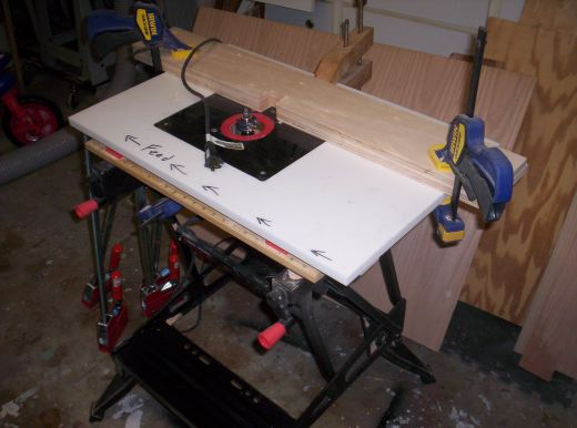 Setting a proper table toms workbench auxiliary router table greentooth Gallery