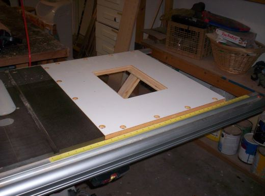 Table saw upgrade woodworking talk woodworkers forum or you can add a router table extension greentooth Choice Image