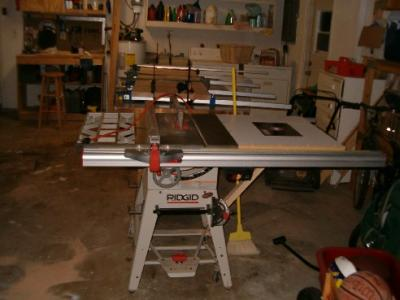 My Ridgid Table Saw